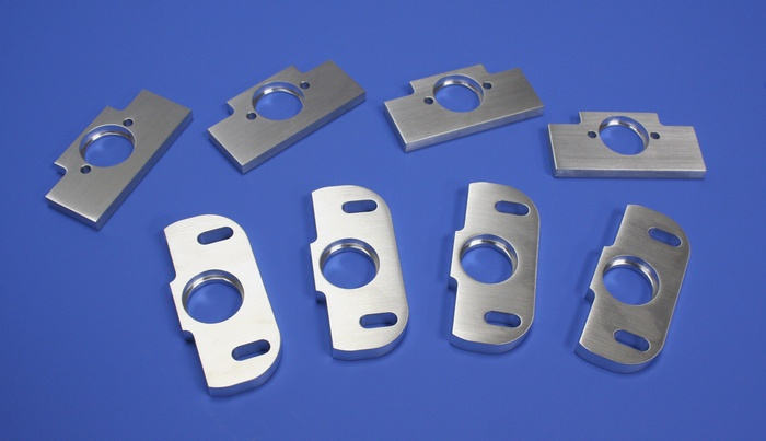 Sample bearing plates