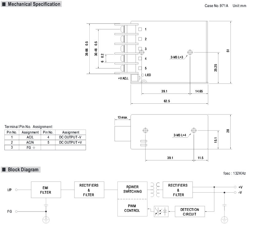 5vdc Block Diagram