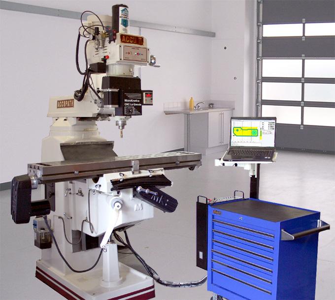 Floor Model Knee Mill Conversion Kit | MicroKinetics