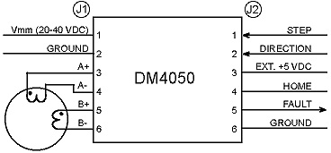 DM4050 Typical Application