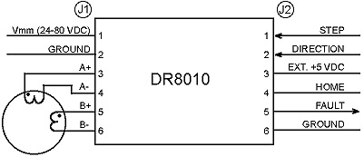 DR8010 Typical Application