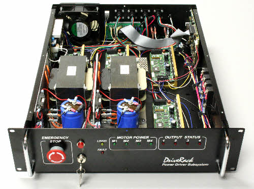 Inside the DriveRack