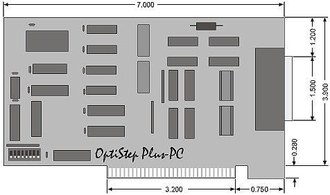 OptiStep Plus Block Mechanical Outline