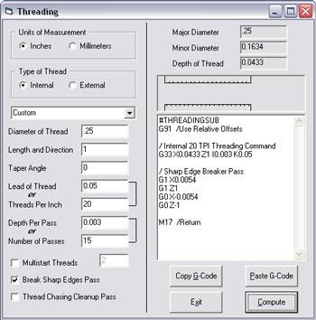 MicroKinetics TurnMaster Pro for Windows - CNC Turning